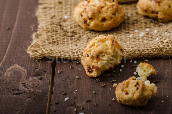 Crackers homemade Stock photo © Peteer