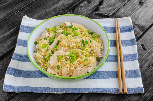 Chinese noodles Stock photo © Peteer