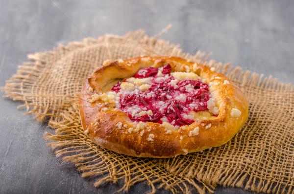 Klein taart bessen tsjechisch oude stijl Stockfoto © Peteer