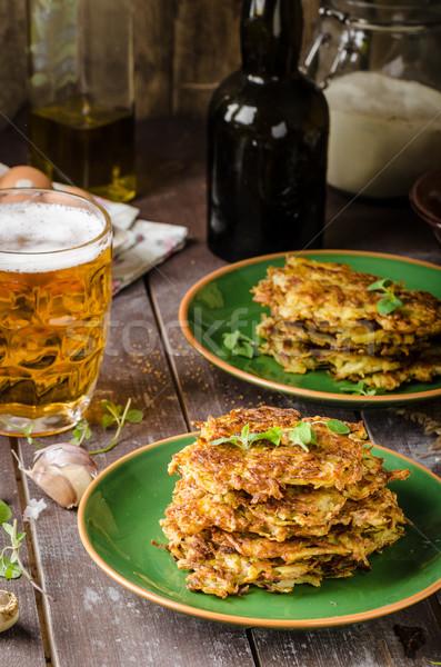 De pomme de terre ail bière herbes délicieux Photo stock © Peteer