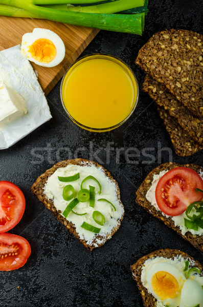 Healthy snack Stock photo © Peteer