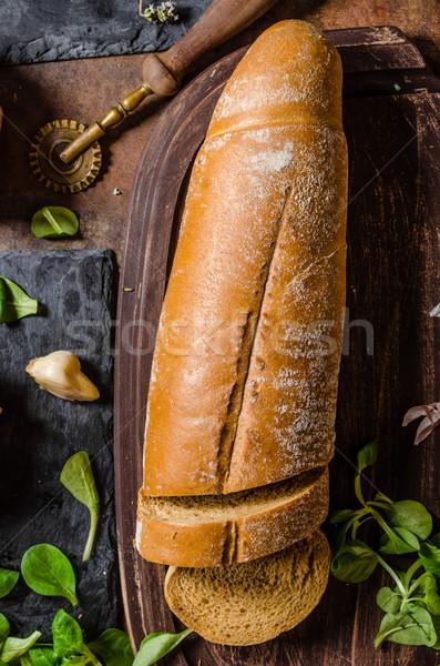 Rustic bread homemade Сток-фото © Peteer