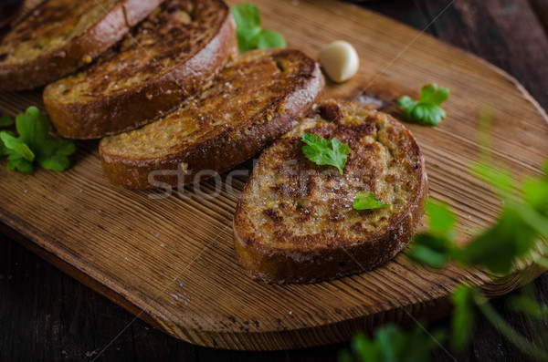 French garlic toast Stock photo © Peteer