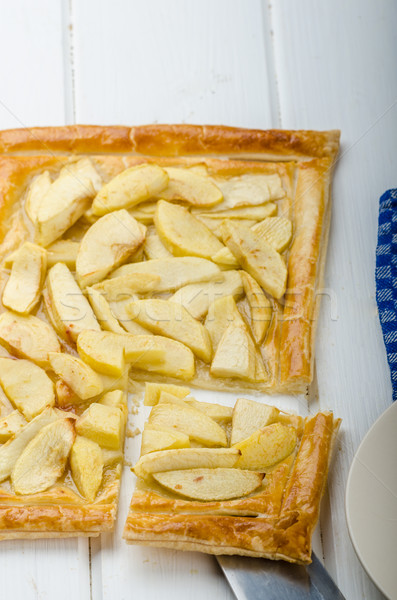 Rustic Apple Tart Stock photo © Peteer