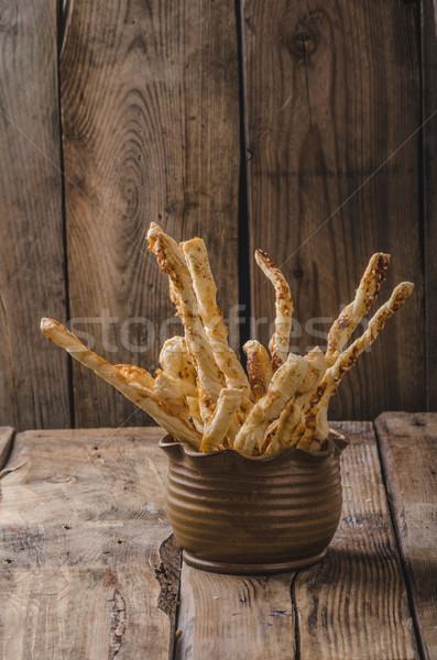 Stock photo: Sticks puff pastry