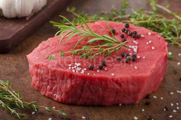 Carne de vită carne ierburi picant alimente Imagine de stoc © Peteer