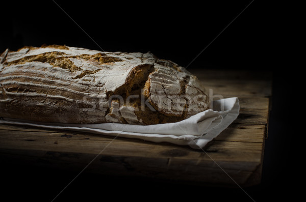 Home-baked sourdough bread Stock photo © Peteer