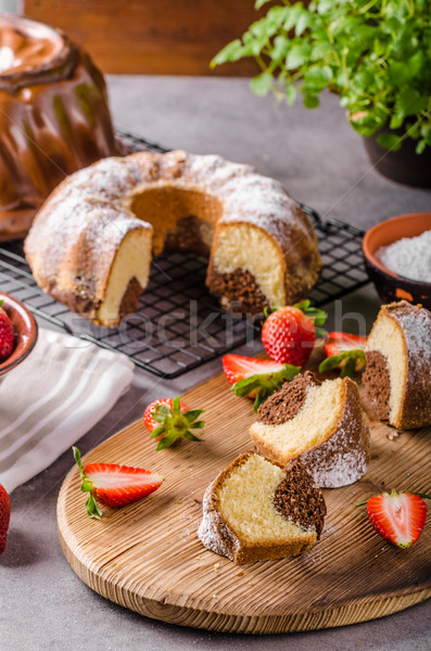 Monkey bread homemade Stock photo © Peteer