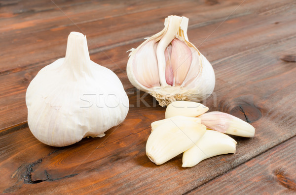 Czech garlic Stock photo © Peteer