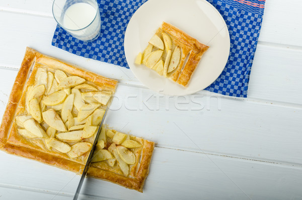 Rustic Apple Tart Stock photo © Peteer