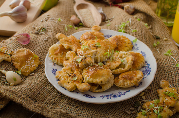 Savory puff pastry Stock photo © Peteer