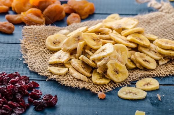 Kurutulmuş meyve sağlıklı lezzetli en iyi başlatmak Stok fotoğraf © Peteer