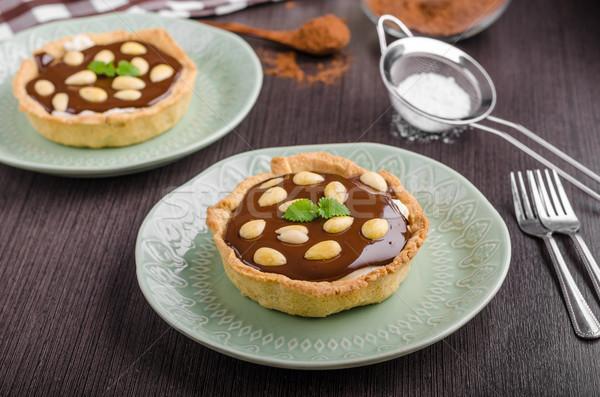 チョコレート ナッツ 砂糖 食品 ホーム フルーツ ストックフォト © Peteer