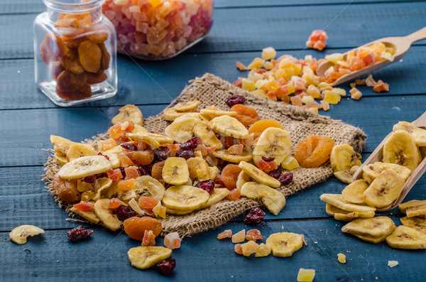 Gedroogd vruchten gezonde heerlijk best start Stockfoto © Peteer