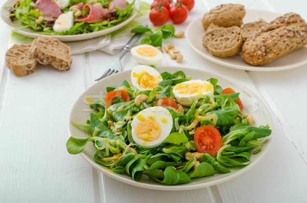 Salat day - be healthy Stock photo © Peteer