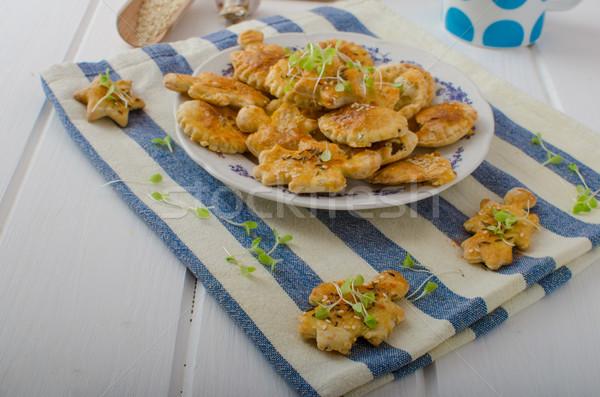 Savory puff pastry Stock photo © Peteer
