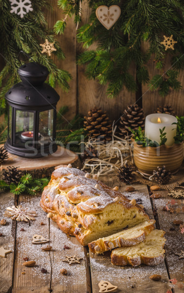 Traditional Czech Christmas cake Stock photo © Peteer
