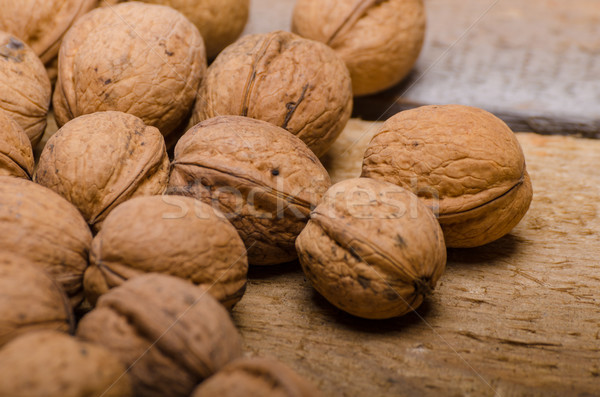 Walnuts product photography Stock photo © Peteer