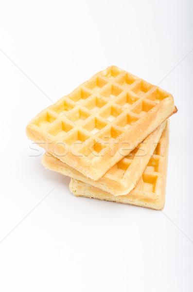 Waffles delish dessert Stock photo © Peteer