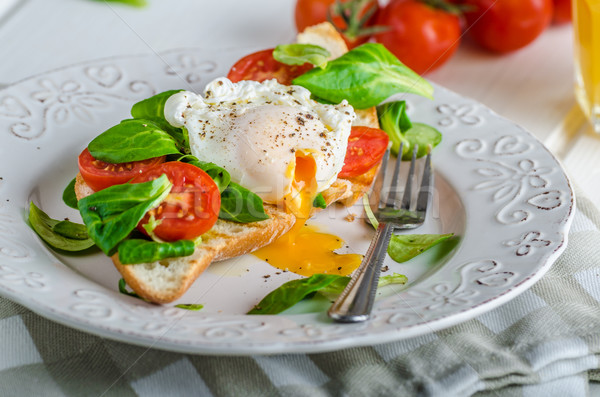 Fresh Healthy Breakfast Stock photo © Peteer