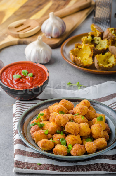 домашний жареный мини картофель Сток-фото © Peteer