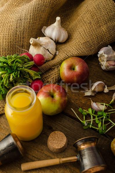Kaas klein huiselijk home poppy Stockfoto © Peteer