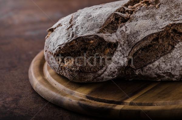 Wholegrain rustic bread Stock photo © Peteer