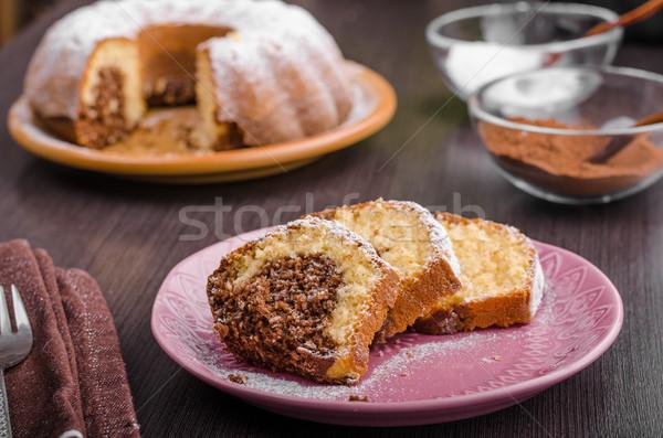 Delish chocolate monkey bread Stock photo © Peteer