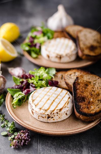 гриль камамбер сыра мини Салат Сток-фото © Peteer