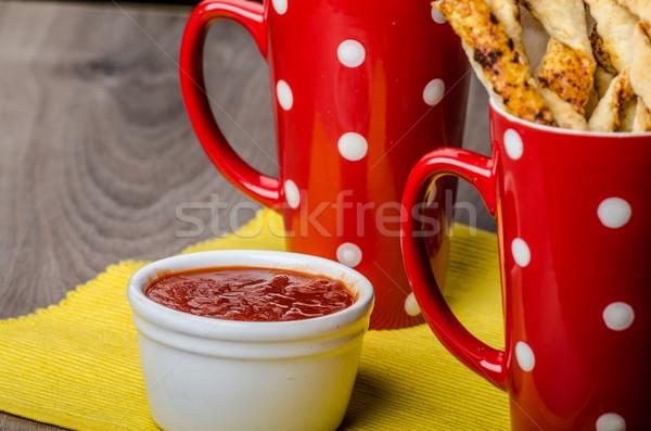 パーティ ペストリー ホットソース 食品 パン 楽しい ストックフォト © Peteer