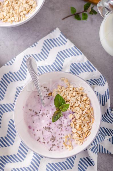 Delish healthy breakfast Stock photo © Peteer