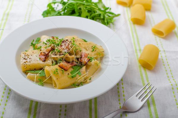 Italian rigatoni Stock photo © Peteer