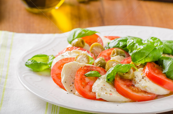 Caprese salad Stock photo © Peteer