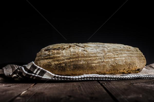 домой хлеб рожь деревенский место Сток-фото © Peteer