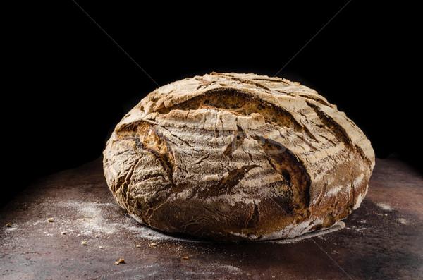 Homemade bread sourdough Stock photo © Peteer
