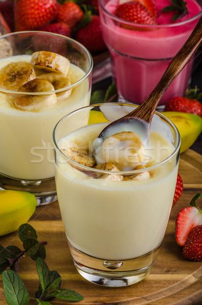 банан фото простой десерта продовольствие фон Сток-фото © Peteer