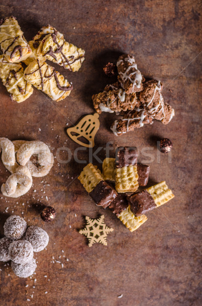 Christmass cookies, candy Stock photo © Peteer