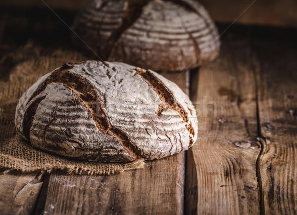Homemade sourdough bread Stock photo © Peteer