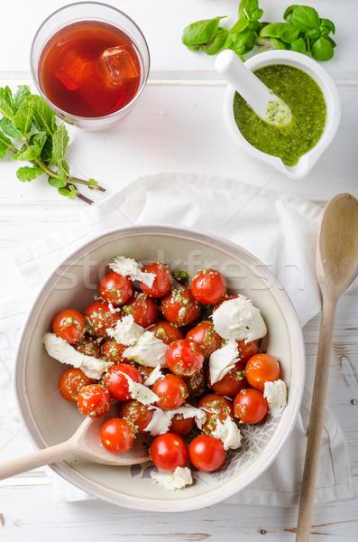 Cherry tomato salad Stock photo © Peteer