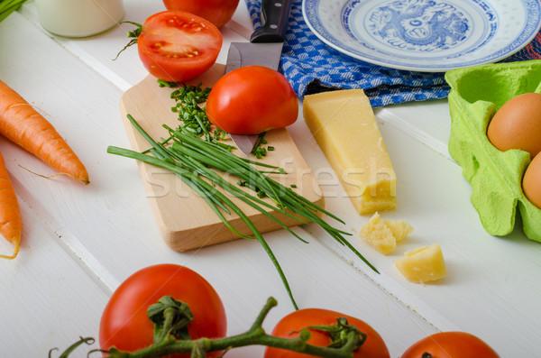 Spring vegetable, preparation Stock photo © Peteer