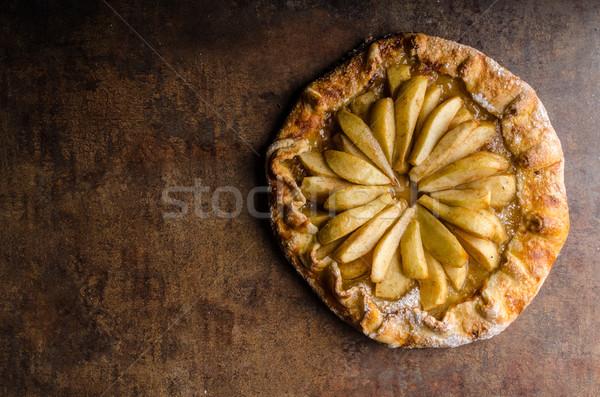 Sweet pear pie Stock photo © Peteer