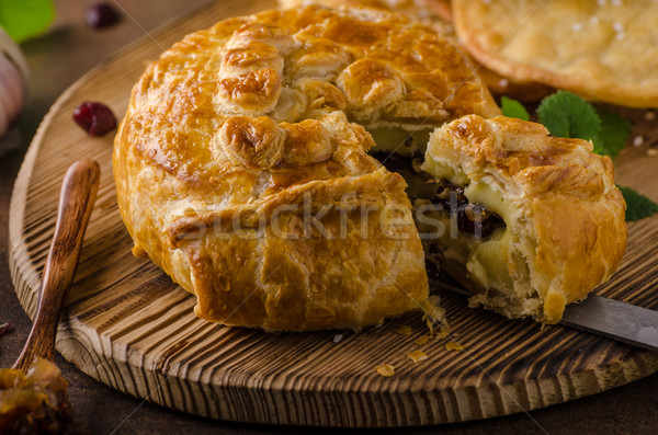 Relleno camembert bayas delicioso alimentos Foto stock © Peteer