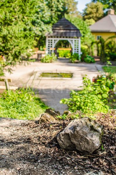 Garden gazebo Stock photo © Peteer