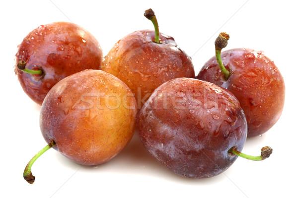 Сток-фото: свежие · зрелый · белый · фрукты · лет