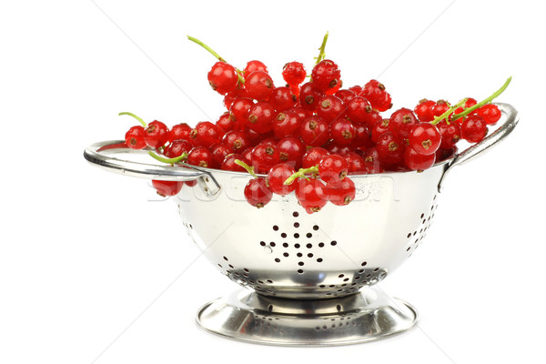 Сток-фото: металл · красный · смородина · белый · продовольствие