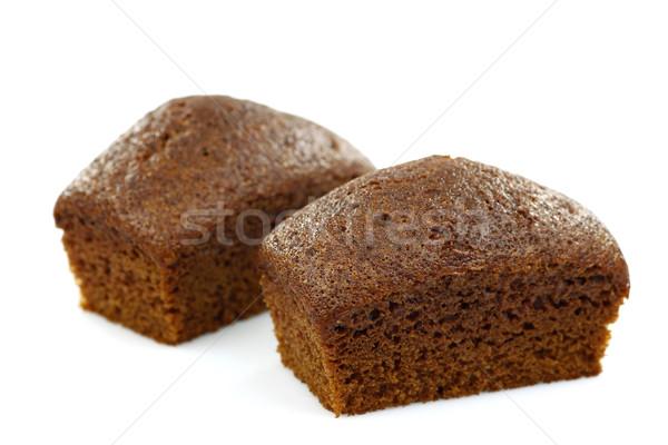 two chocolate cakes Stock photo © peter_zijlstra