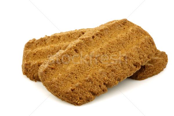 オランダ語 クッキー テクスチャ デザート 甘い 砂糖 ストックフォト © peter_zijlstra
