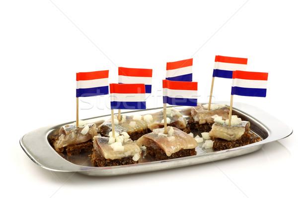 Сток-фото: лоток · свежие · голландский · рубленый · лук · рожь