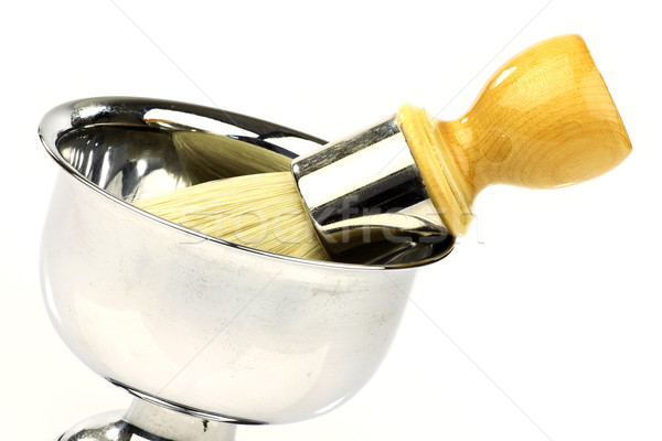 Vintage парикмахера инструменты белый инструментом салона Сток-фото © peter_zijlstra