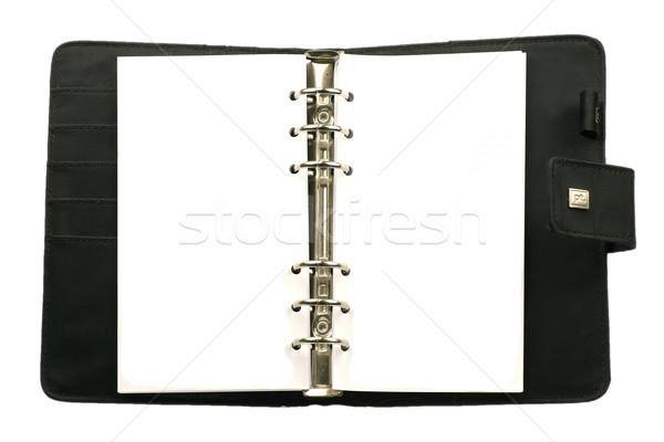 пустая страница повестки готовый календаря ноутбук написать Сток-фото © peter_zijlstra